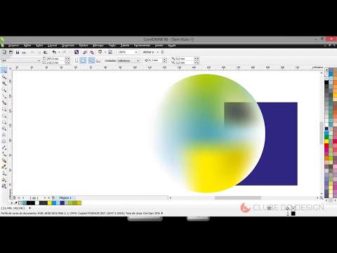 Curso prático de Design Gráfico #28 - CorelDRAW - Preenchimento inteligente e de malha