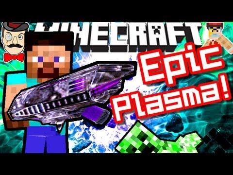 Minecraft EPIC 3D PLASMA GUN!