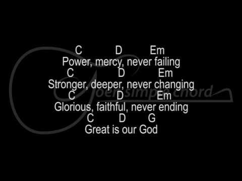 More Than Enough - JPCC Worship lyric and chord