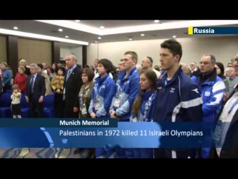 Sochi Olympics 1972 Terror Memorial: Russian Jews and Israeli athletes remember Munich victims