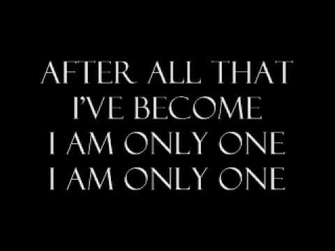 We Are The Fallen - I Am Only One