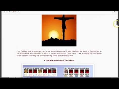 History of the 7 Blood Moon Tetrads Since Christ