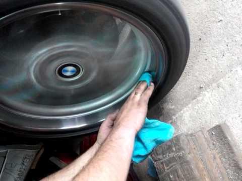 Бмв е39 полировка полки колеса