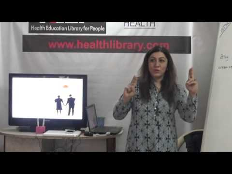 Women's Health Issues- Period Problems by Ms. Anu Mehta  HELP TALKS Video