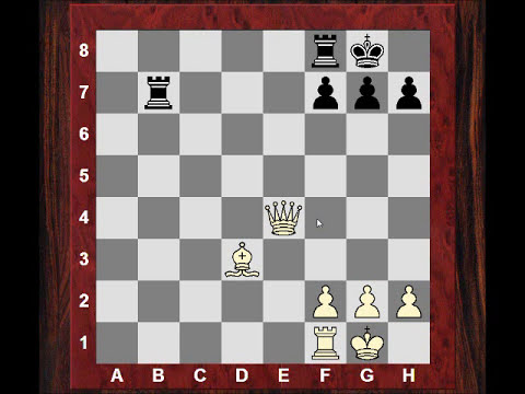 Chess World.net: Chess Tactics #101 - Loose pieces and the double attack (Chessworld.net)