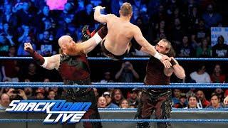 Bludgeon Brothers demolish former ECW Superstar: SmackDown LIVE, Dec. 12, 2017