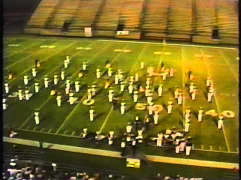 Midwest City High School Marching band 1991 Renegade Review Finals