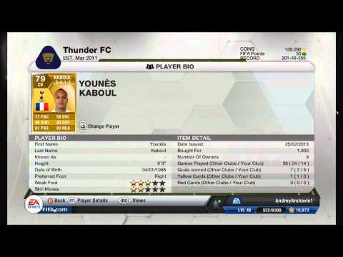 FIFA 13 100k Ivory Coast/BPL Squad builder ft. 3 Informs from TOTW