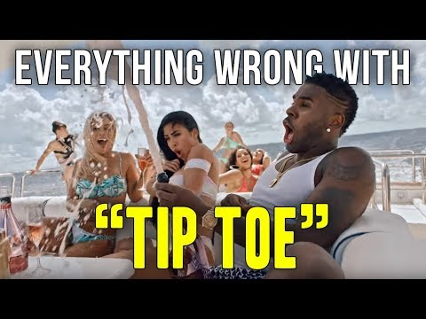 """Everything Wrong With Jason Derulo - """"Tip Toe feat. French Montana"""""""