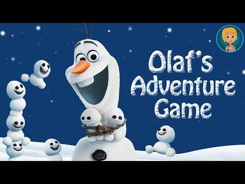 Disney Frozen Olaf the snowman adventures - Olaf's summer song Disney Games