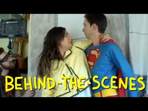 "Superman: The Movie - ""Superman Saves Lois"" - Homemade (Behind The Scenes) thumbnail"