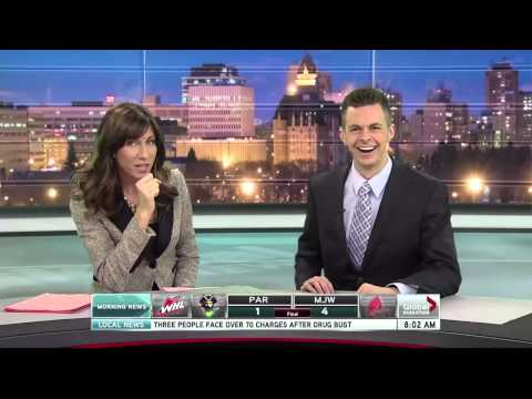 Hilarious NSFW News Blooper