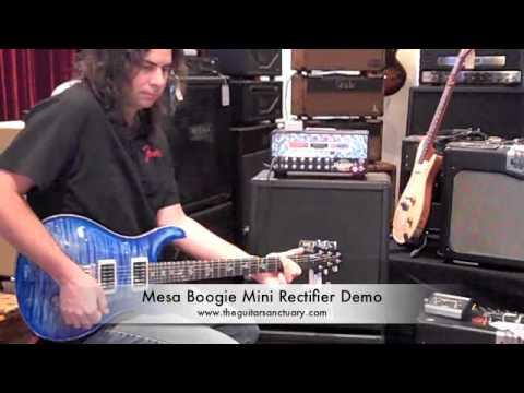 Mesa Boogie Mini Rectifier Demo The Guitar Sancutary