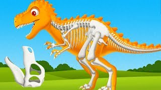 Fun Jurassic Dig Kids Game - Kids Learn Dinosaur's Name And Sounds - Fun Educational Games For Kids