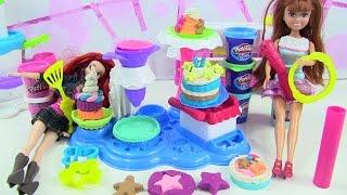 Đồ Chơi Play-Doh Làm Bánh Sinh Nhật Bánh Kem Màu Sắc Ngon Ngon Yummy (Bí Đỏ) Play-Doh Cake Party Toy