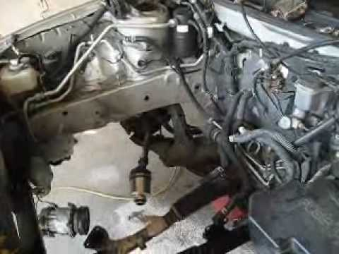 mazda  engine replacement job youtube