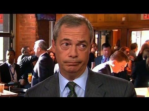 Farage reacts to Trump's proposed NATO agenda