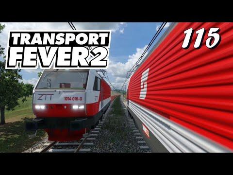 Transport Fever 2 S6/#115: Und los geht die Fahrt durch alle Metropolen [Lets Play][German][Deutsch]