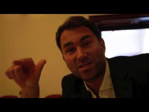EDDIE HEARN TALKS CAMPBELL / COYLE, KELL BROOK HAND WRAPS, RIGONDEAUX & CO-PROMOTING.