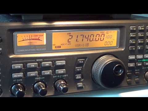 Radio australia 21740 khz 23 january 2013
