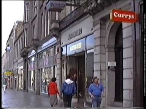 Aberdeen, Union Street Shops, 1991