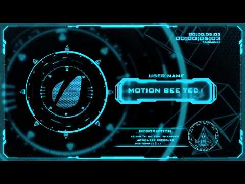 Mantra (Sci Fi Pack) (After Effects Template)