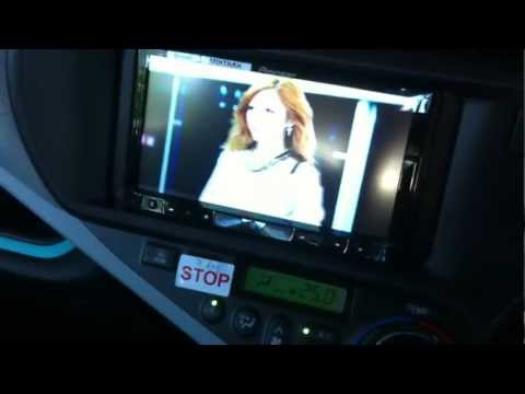 Toyota Prius C - After market a/v player - Pioneer AVH-8450BT