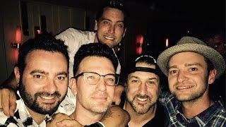 'NSYNC Reunites For JC Chasez's Birthday & Sing Together