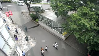 【LIVE CAMERA】原宿交差点 ライブ映像 Shibuya scramble crossing 「STUDIOEIMEIが運営するライブカメラ。