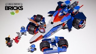 Lego Nexo Knights 70315 Clays Rumble Blade Speed Build