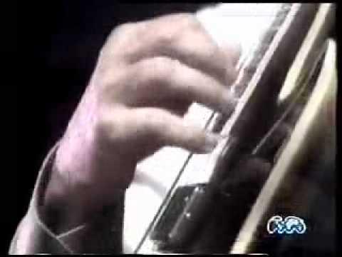 Joe Pass Trio - Club Date , San Diego 1990 Brasil TV with Bob Magnusson bass, Jim Plank drums