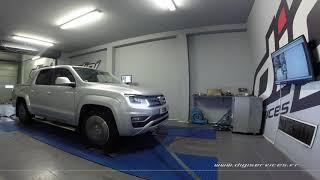 VW Amarok 3.0 TDI 224cv DSG Reprogrammation Moteur @ 322cv Digiservices Paris 77 Dyno