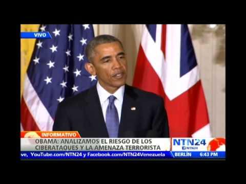 Barack Obama y David Cameron presentan medidas contra la cibercriminalidad