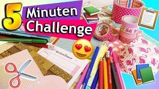 5 Minuten DIY Challenge | Kleine Überraschung für die BFF mit 3 Materialien | Evas vs. Kathis Idee