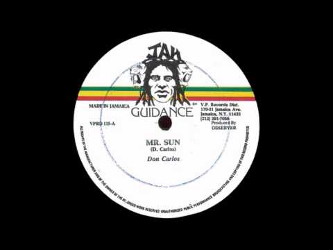 12'' Don Carlos - Mr Sun