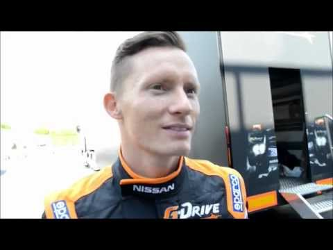 Interview with Mike Conway (GBR) - nr26 G-Drive Racing Oreca Nissan