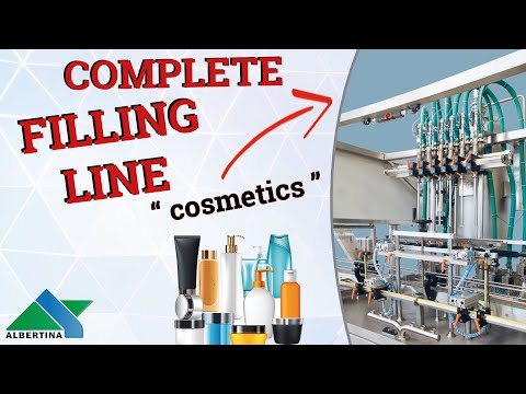 Albertina - Filling line for containers in holders