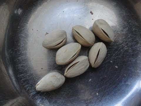 How to easily open your remaining hard to open Pistachio Nuts.