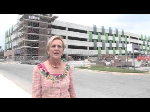 New Parking Garage at Northwest Vista College