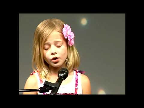 Jackie Evancho   O Mio Babbino Caro   June 2009  Singing Contest Music Videos