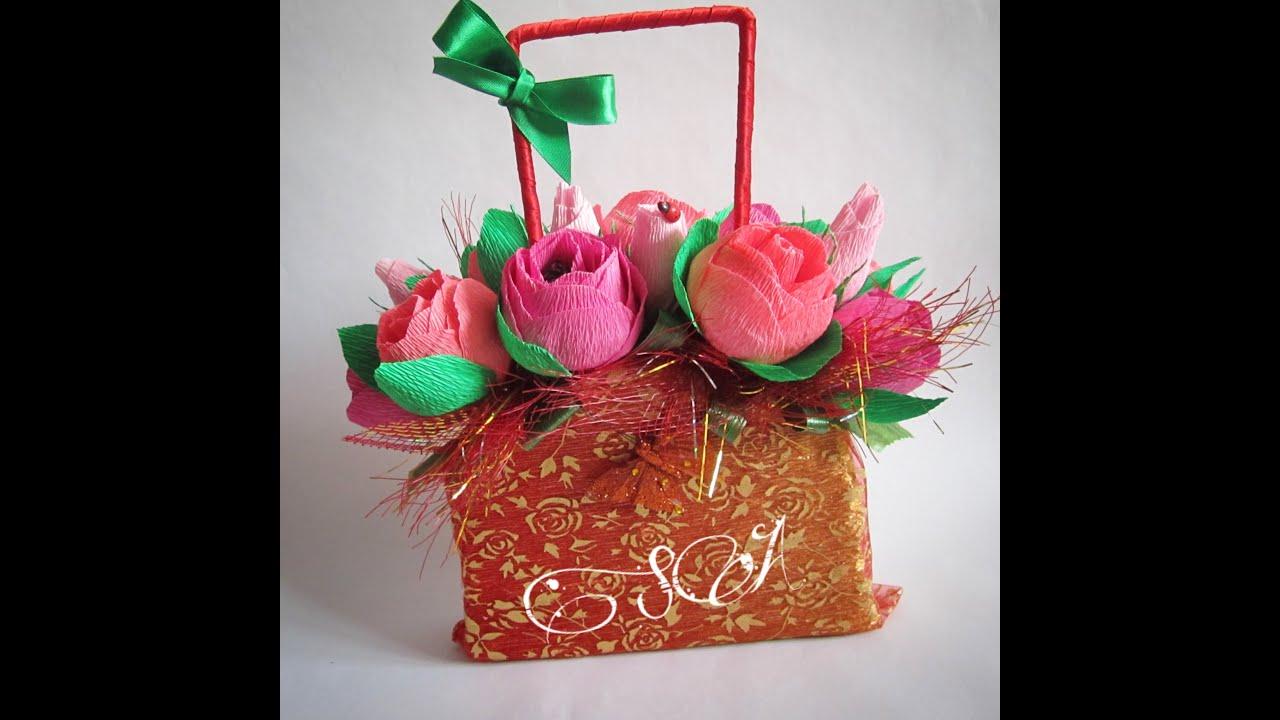 Подарки с конфетами своими руками мастер класс 672