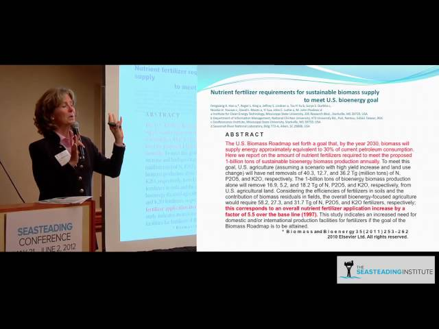 Lissa Morgenthaler-Jones on LiveFuels at the Seasteading Conference 2012