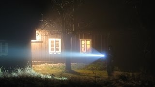 Fenix TK35 LED Flashlight in the fog