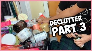 DECLUTTER NATURAL HAIR PRODUCT STASH | Part 3