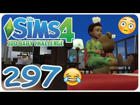 DIE SIMS 4: 100 BABY CHALLENGE #297 FLIEGENDES KLEINKIND! :O ☆ Let's Play