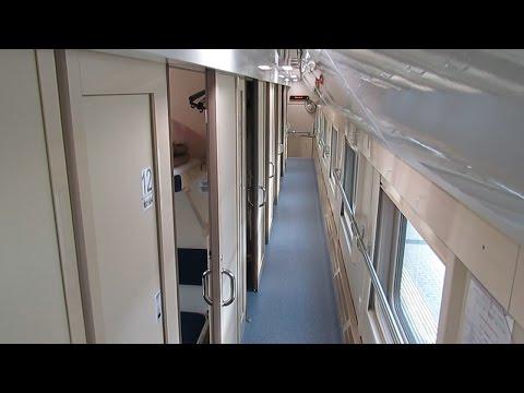 Двухэтажный поезд Казань - Москва изнутри