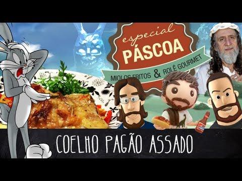 Coelho Pagão Assado - Feat. Otávio Albuquerque | Miolos Fritos Culinária Nerd