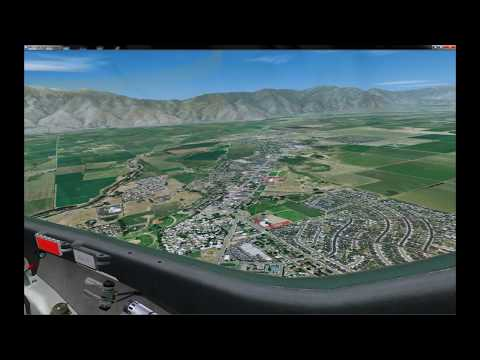 FSX Photoreal Enhanced Mission: Intro to Soaring 1080p
