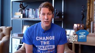 Dustin Lance Black BLUE SHIRT DAY® WORLD DAY OF BULLYING PREVENTION™ 2017