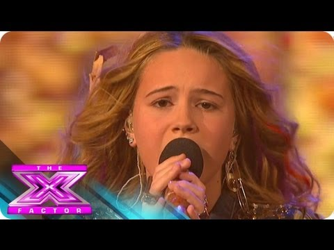 Beatrice Miller Bursts Into Life - THE X FACTOR USA 2012